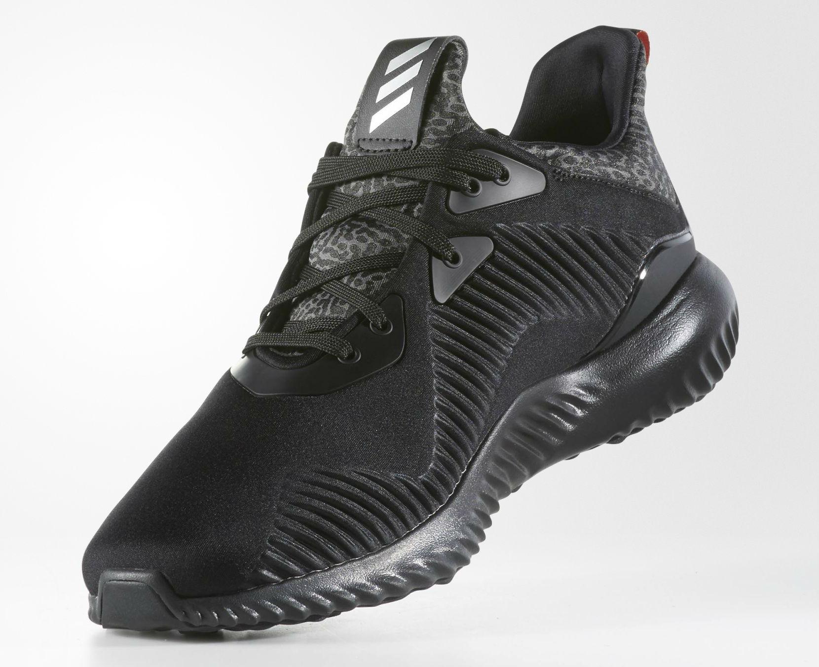 Runner Silver >> adidas AlphaBOUNCE Black B42746 | Sole Collector