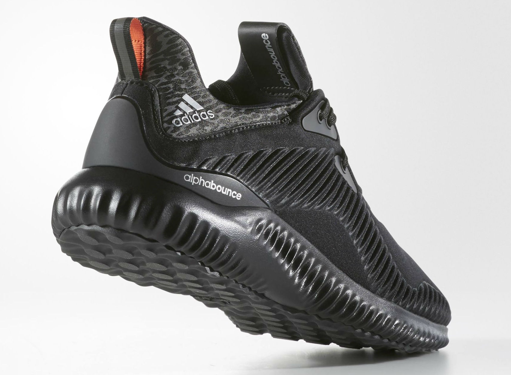 adidas AlphaBOUNCE Black Lateral B42746