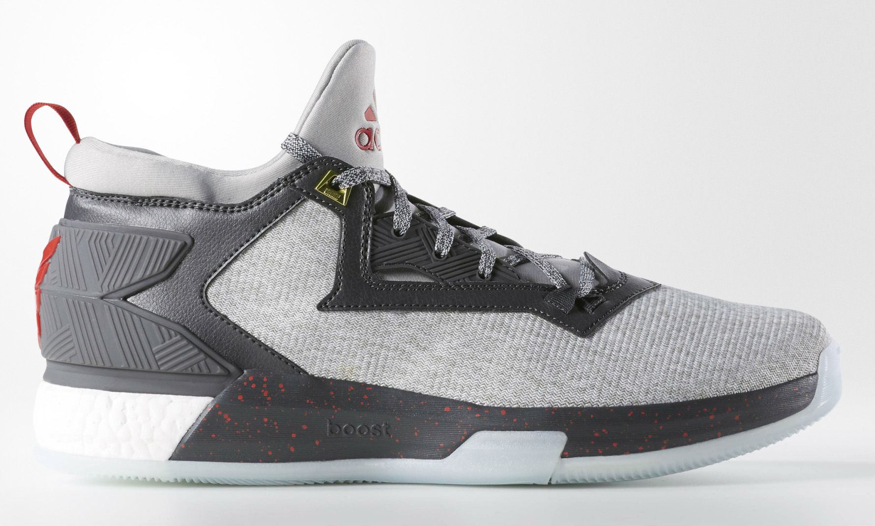 adidas D Lillard 2 Boost Heather  905c037a6b
