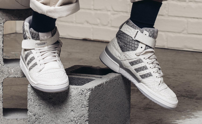 Adidas Forum Snakeskin Front