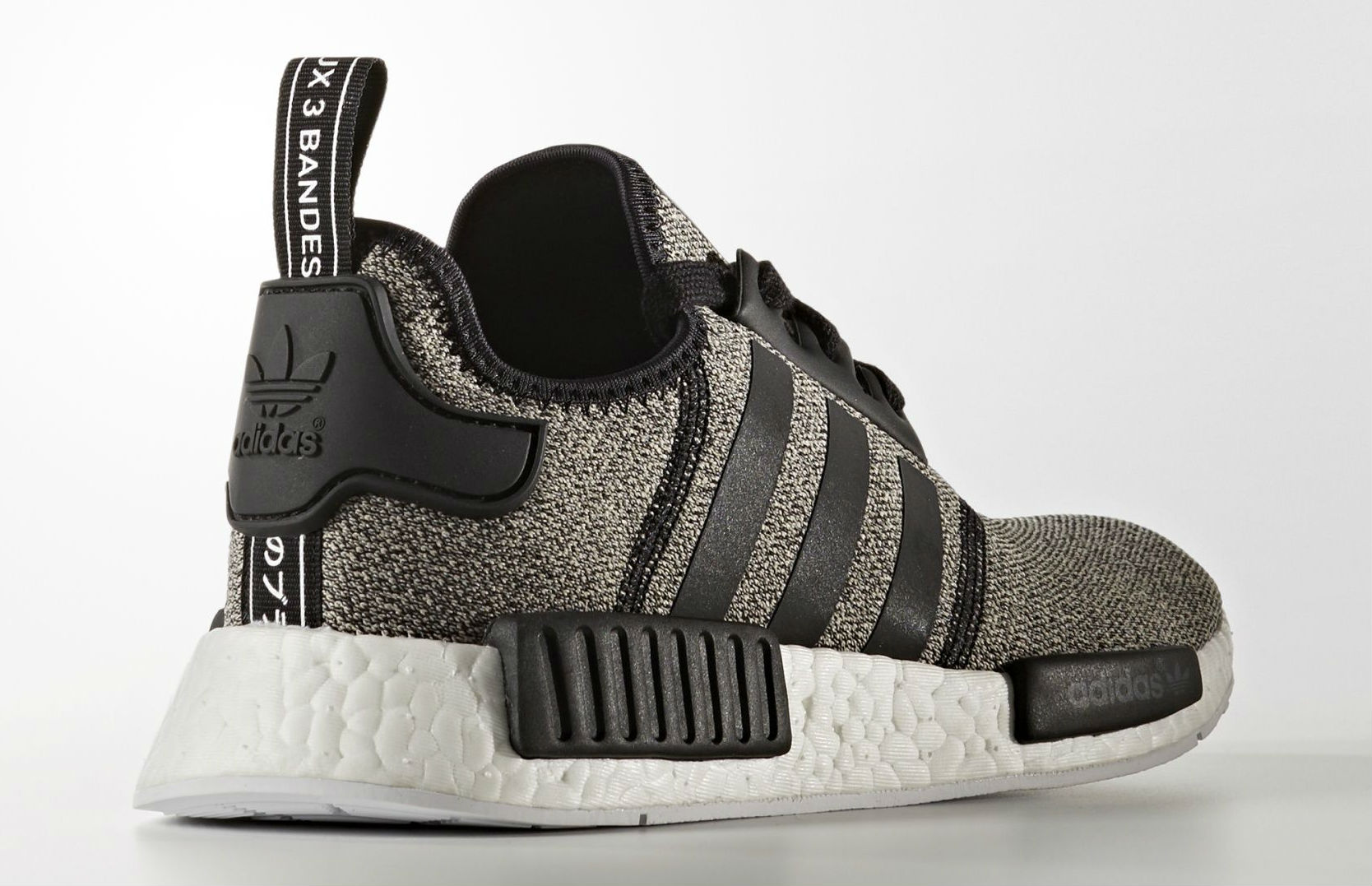 adidas NMD Black/White Reflective Lateral
