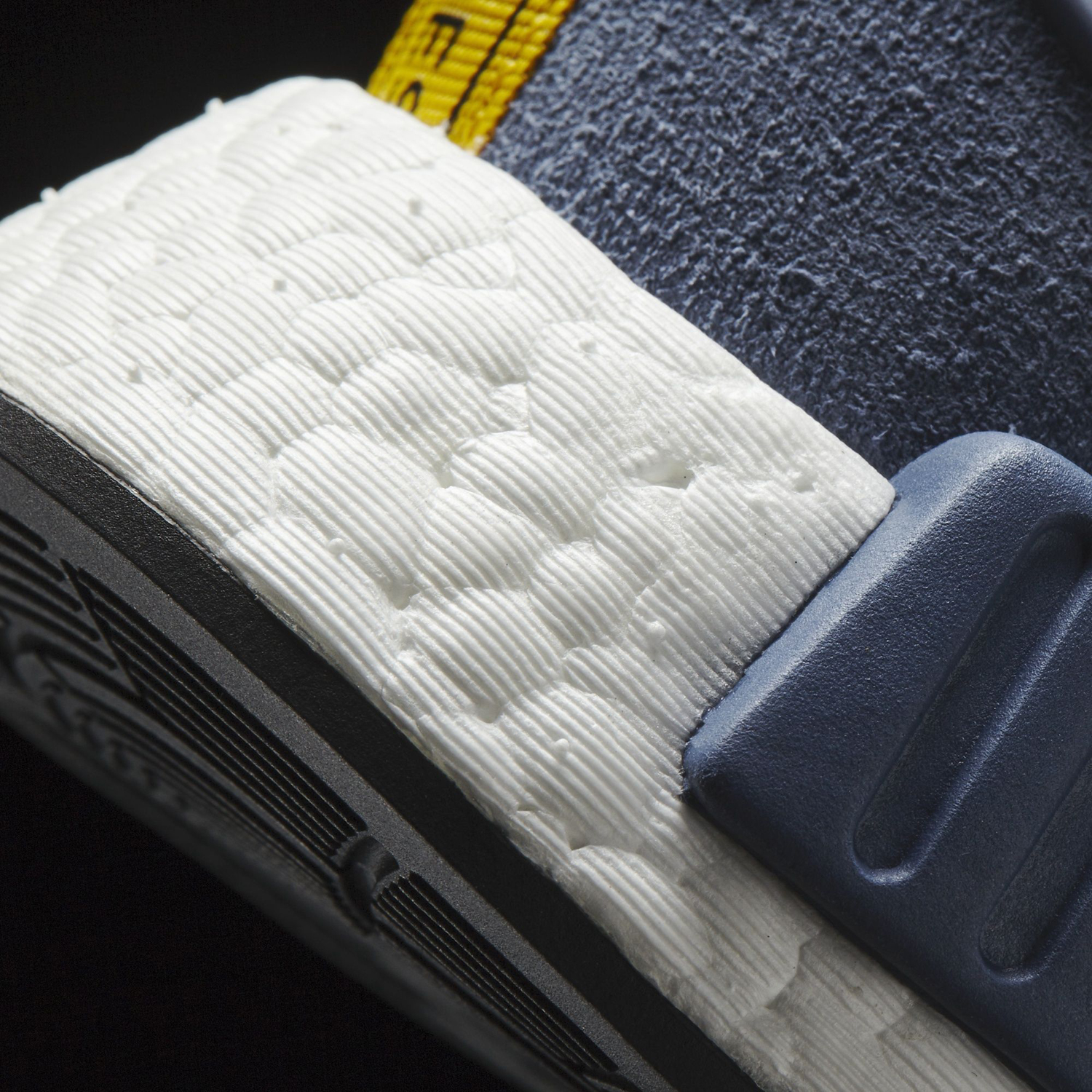 Adidas NMD Blue Suede Sole Detail