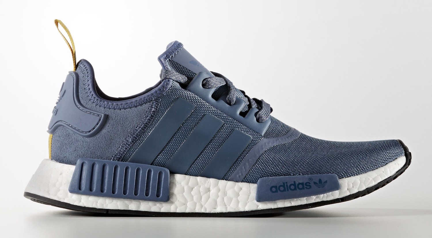 Adidas NMD Blue Suede Profile