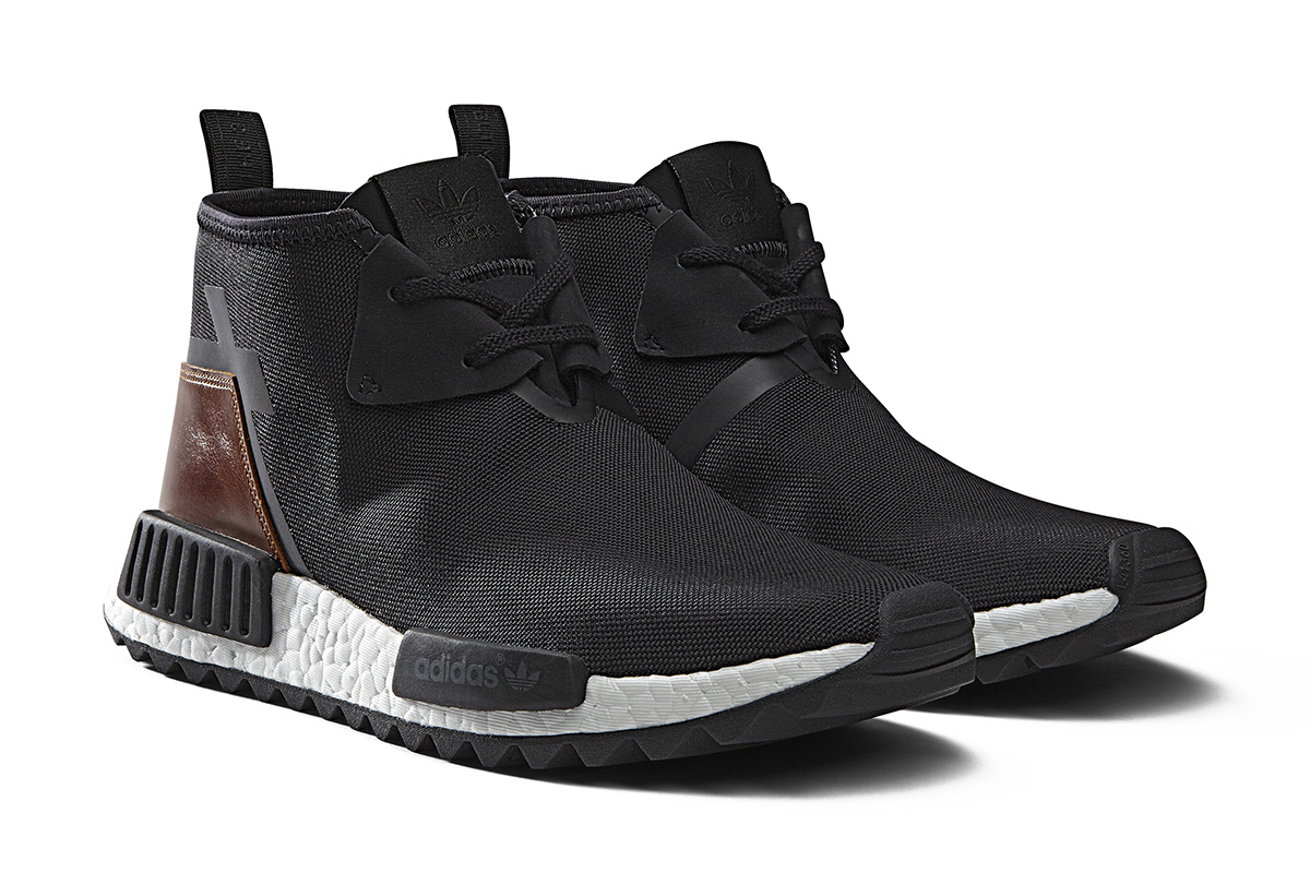Adidas NMD C1 OG Chukka S79148 Black / Red / Blue UK 11 Shoes