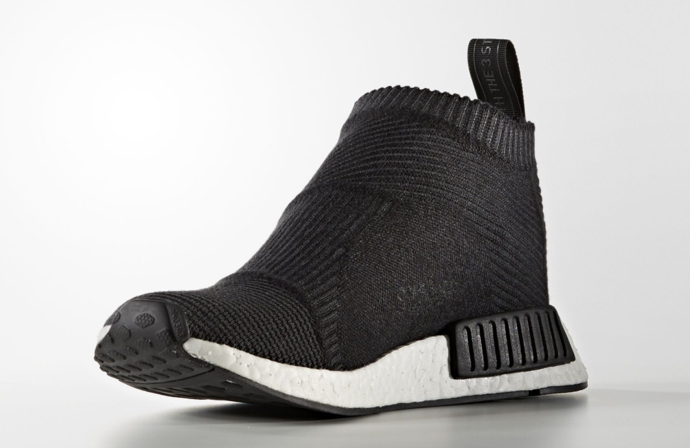 Adidas NMD City Sock Black White Medial