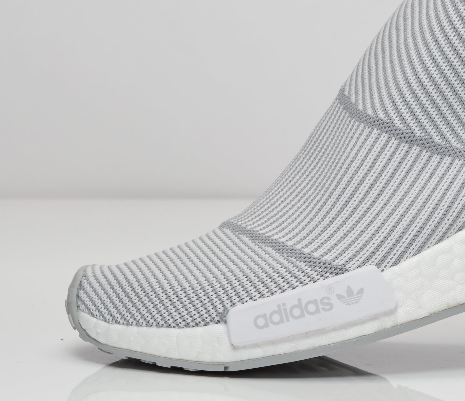 Adidas NMD City Sock Grey White Detail