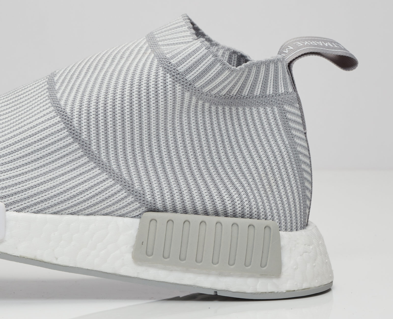 Adidas NMD City Sock Grey White Rear Detail