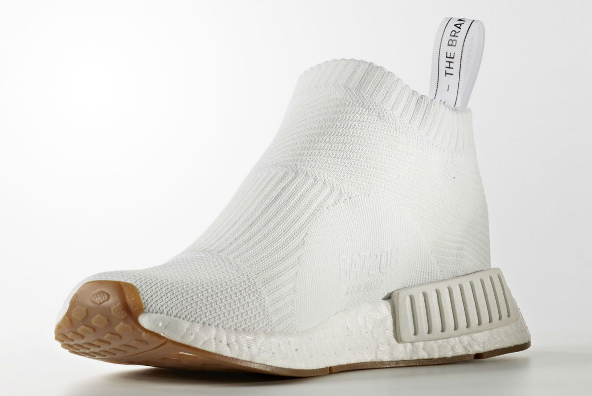 adidas NMD City Sock White Medial