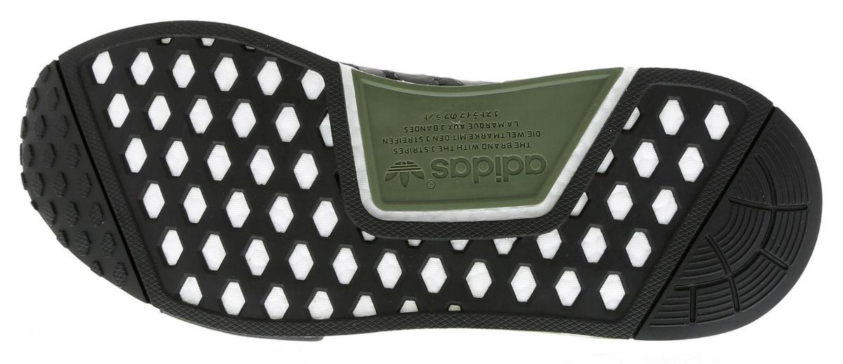 adidas NMD R1 Base Green Core Black White Sole