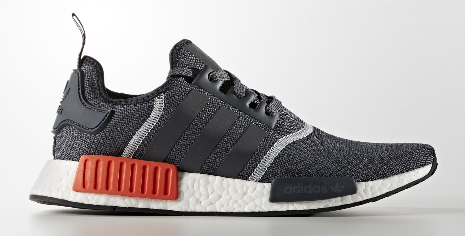 adidas nmd grey white orange sole collector. Black Bedroom Furniture Sets. Home Design Ideas