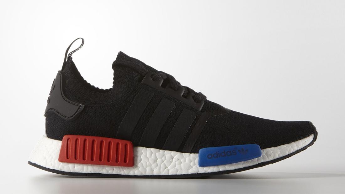 Adidas nmd og black red blue restock sole collector
