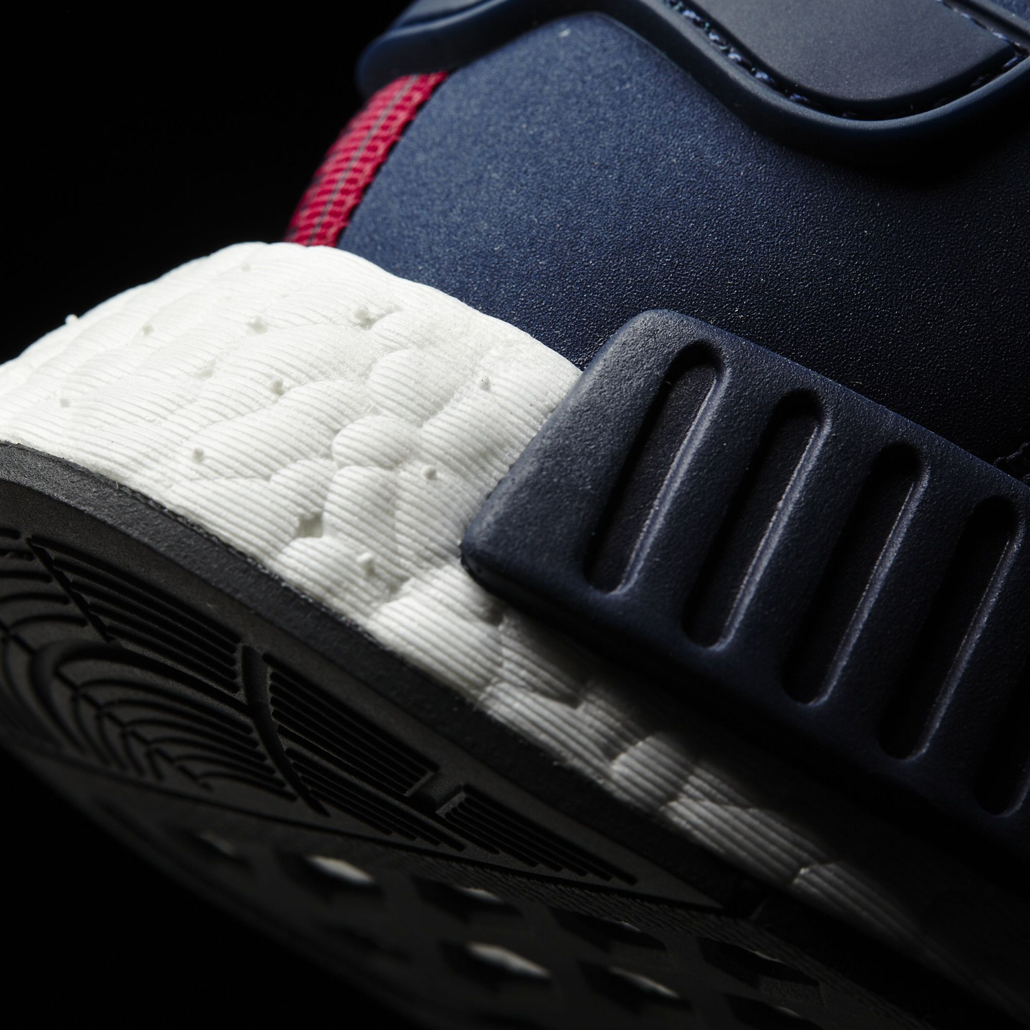 Adidas NMD Navy Suede Sole Detail
