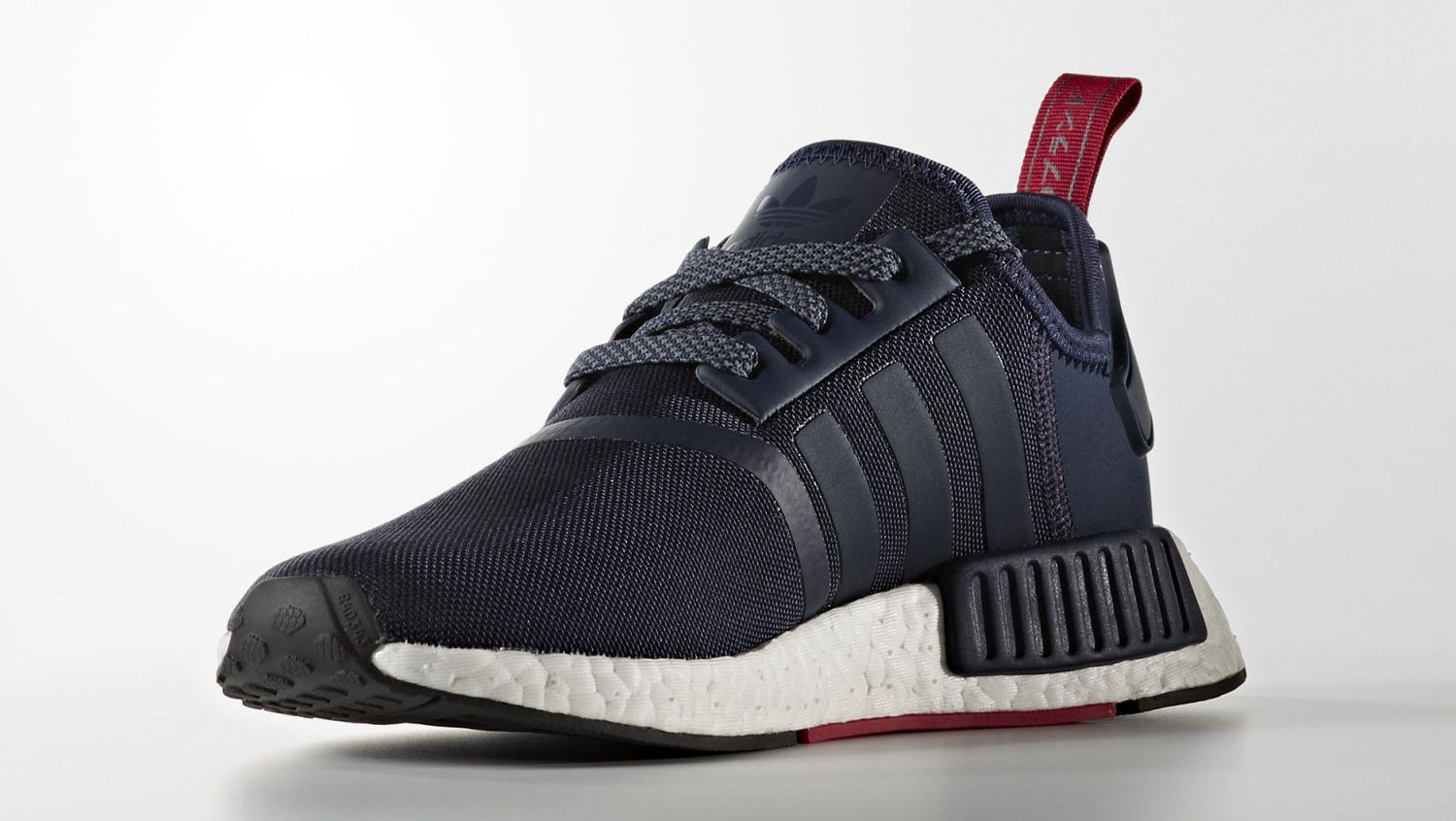 Adidas NMD Navy Suede Medial