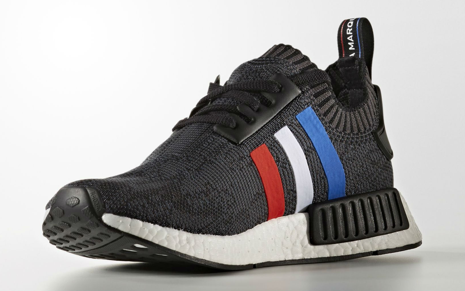 adidas NMD Primeknit Red White Blue Stripes Medial BB2887
