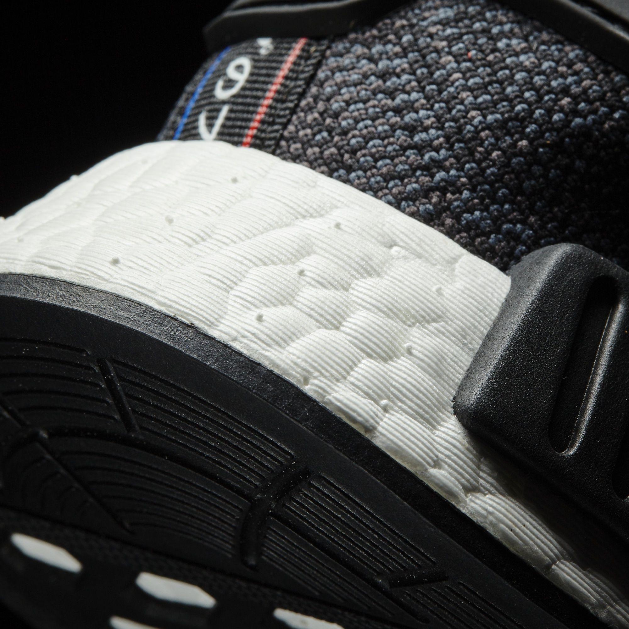 Adidas Nmd R1 Svart Rød Blå Hvit 3AZin