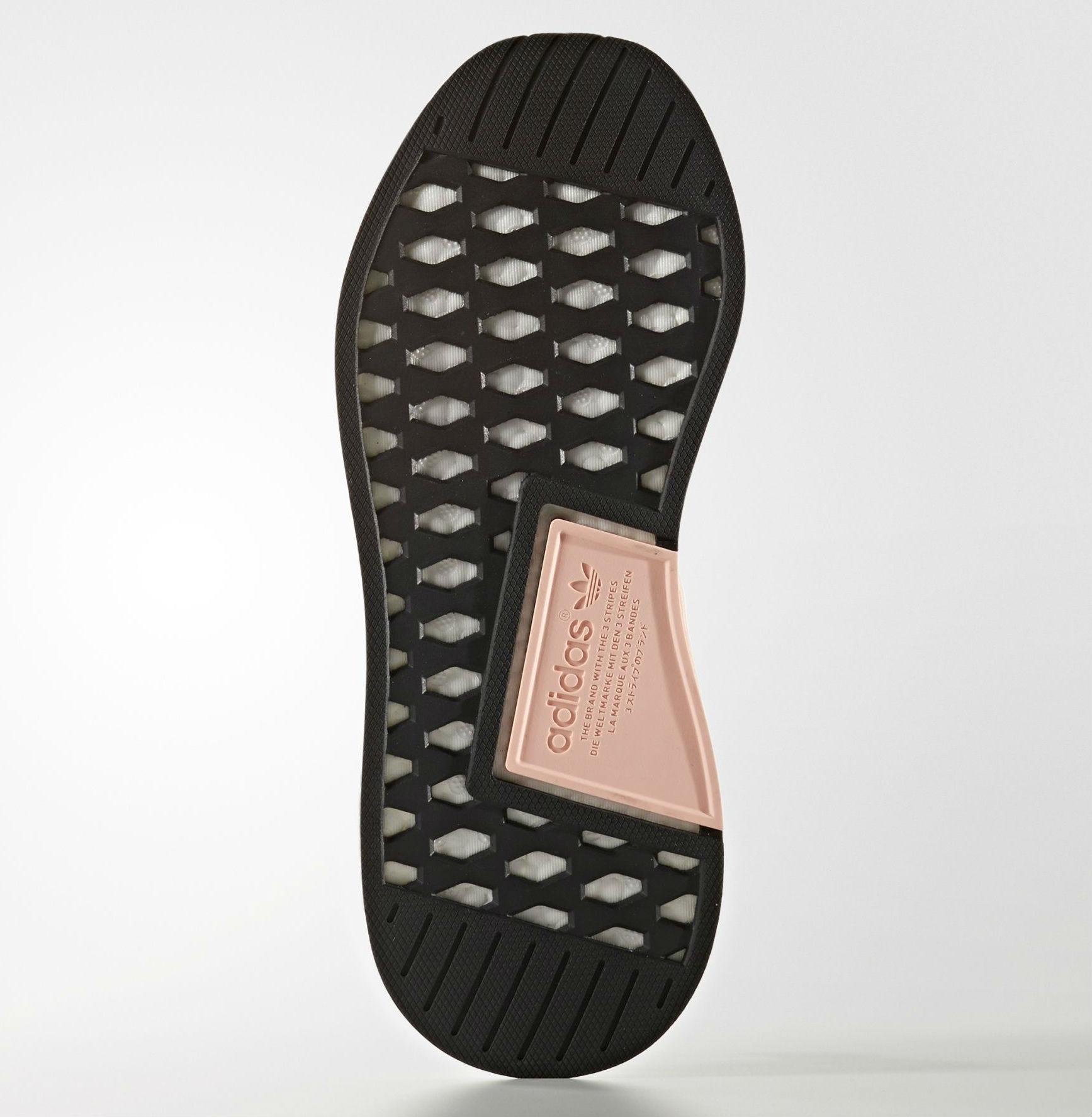 adidas NMD_R2 Primeknit Black Sole BA7239