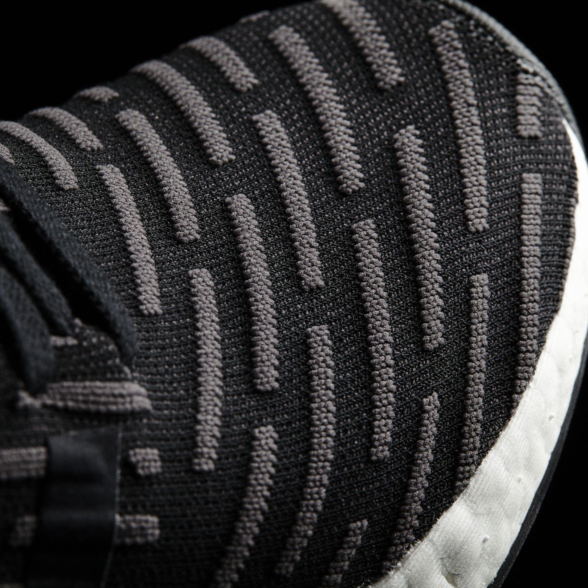 adidas NMD_R2 Primeknit Black Primeknit BA7239