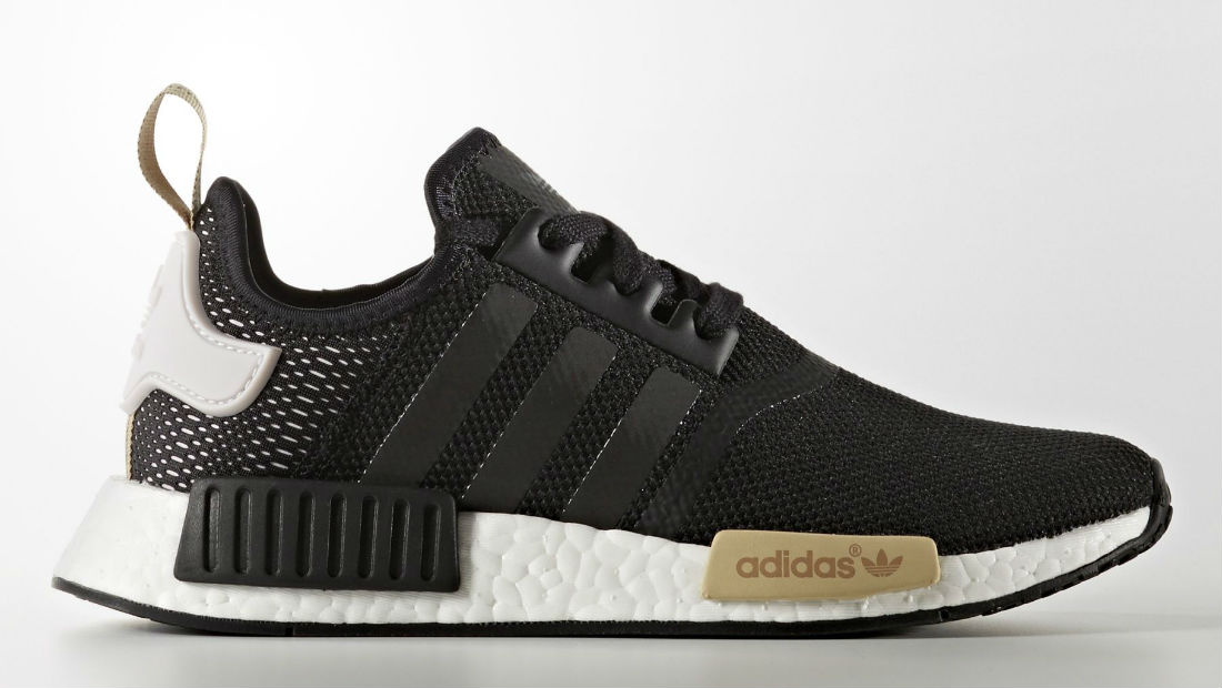 adidas nmd black mesh women 39 s 2017 ba7751 sole collector. Black Bedroom Furniture Sets. Home Design Ideas