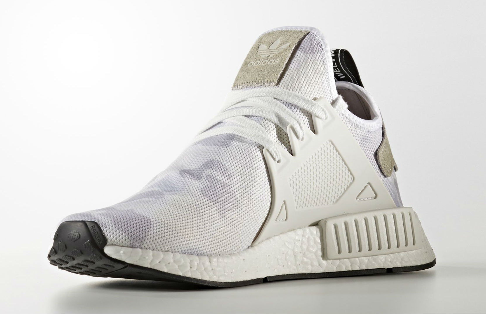 Adidas NMD XR1 Duck Camo Women White Core Black BA7233
