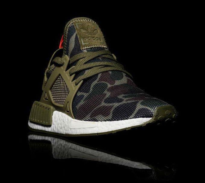 san francisco 59be9 cc71a adidas NMD XR1 Green Camo Toe