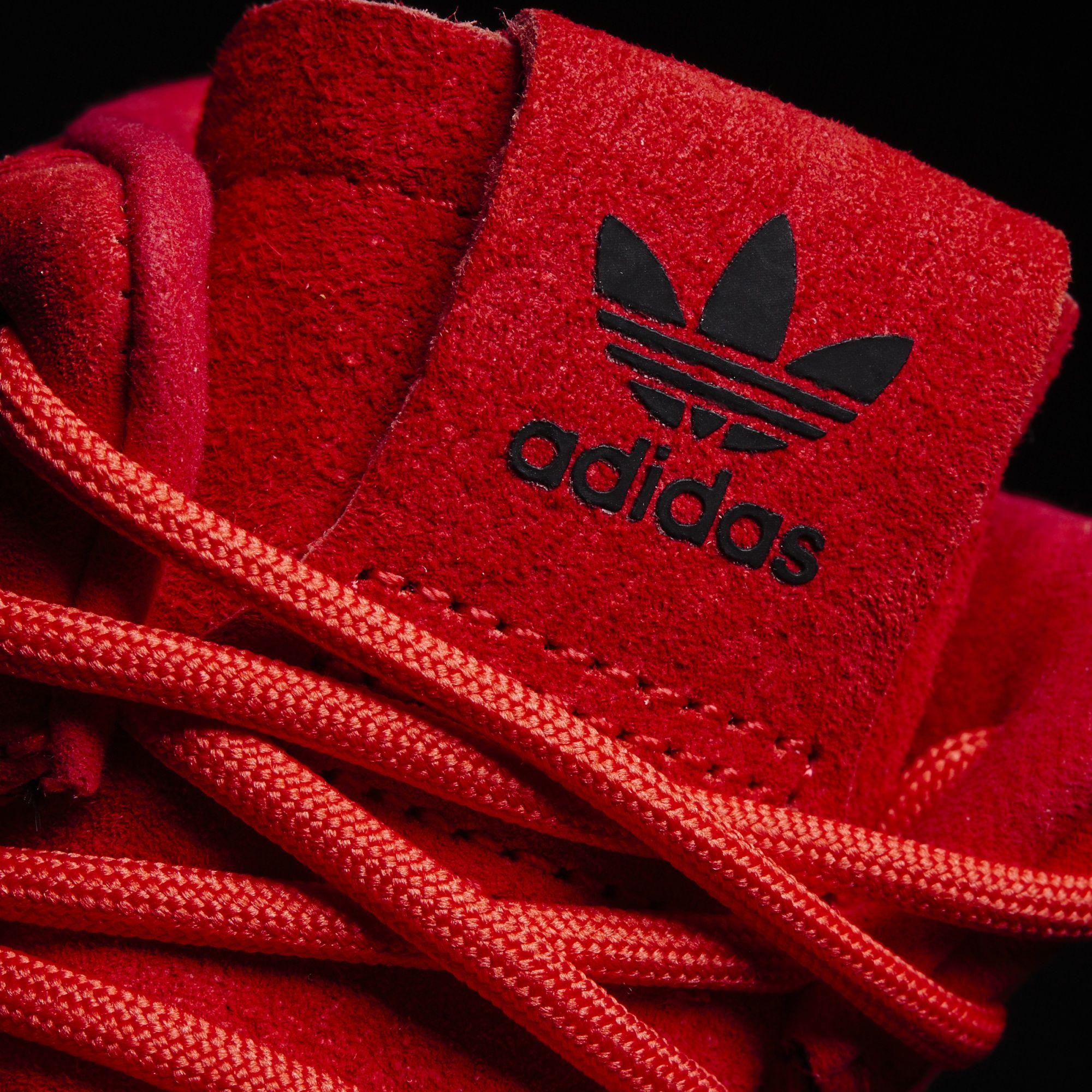 adidas Tubular Invader Red October Tongue