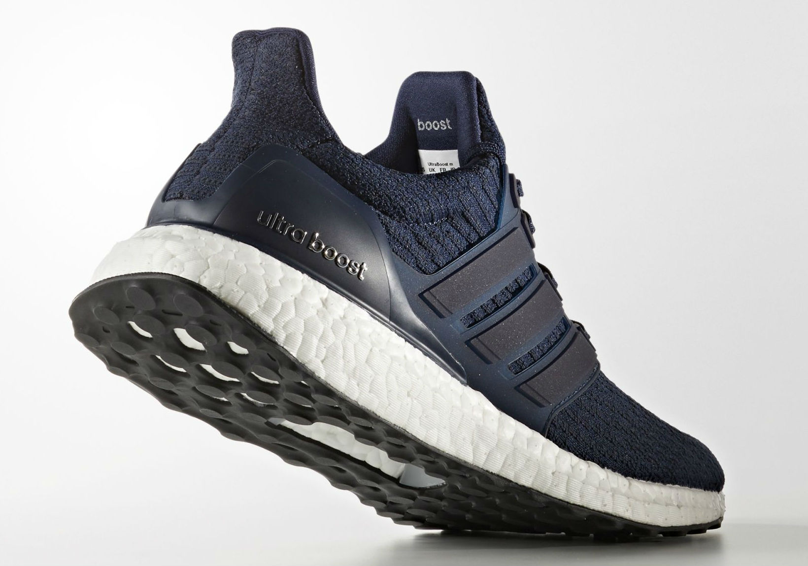 low priced fd254 d3e50 adidas Ultra Boost 2017 Navy Heel BA8843