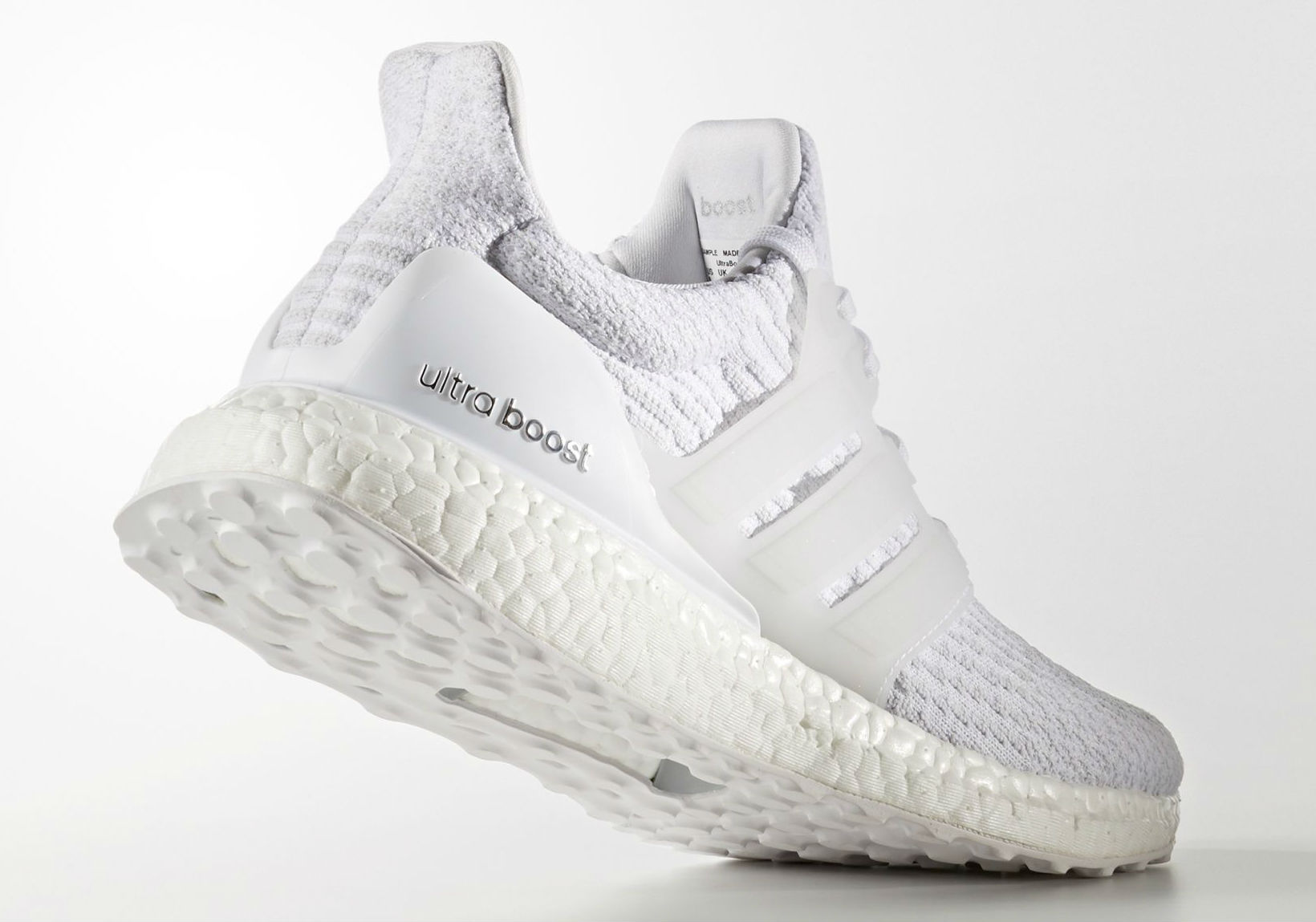 adidas Ultra Boost 2017 White Heel BA884
