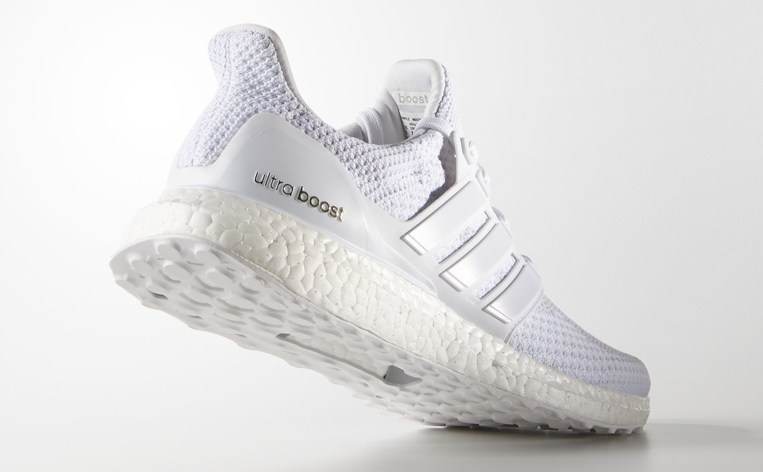 adidas ultra boost triple white restock september 2016. Black Bedroom Furniture Sets. Home Design Ideas