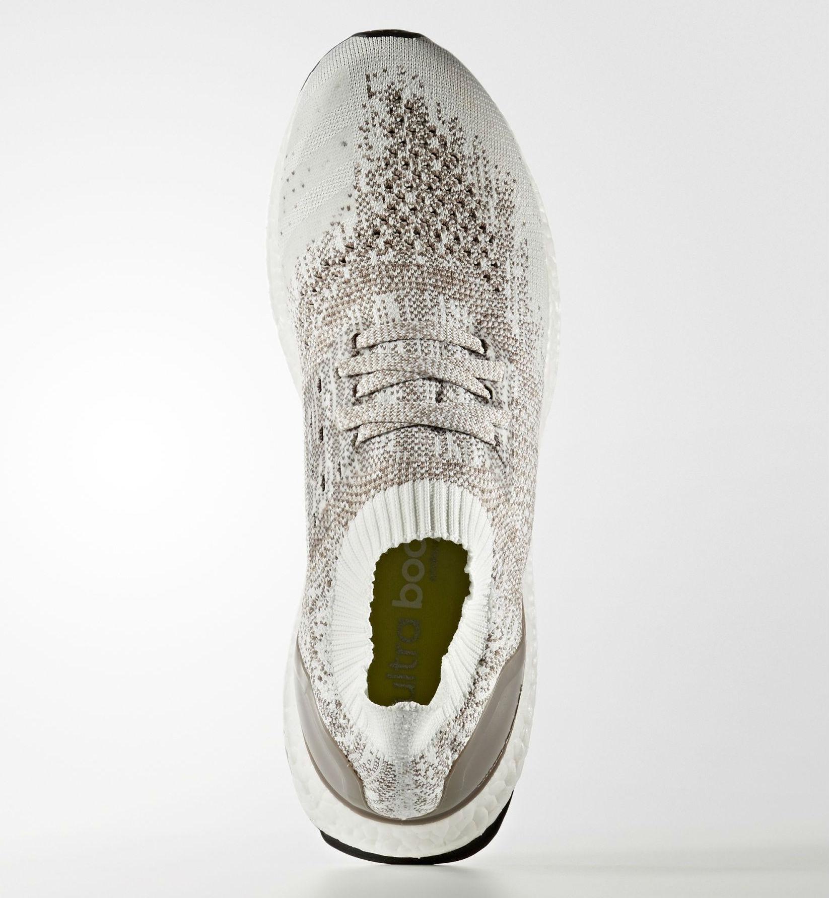 wholesale dealer d28cd 0103e adidas Ultra Boost Uncaged LTD White Tech Earth Vapour Grey Top BB4074