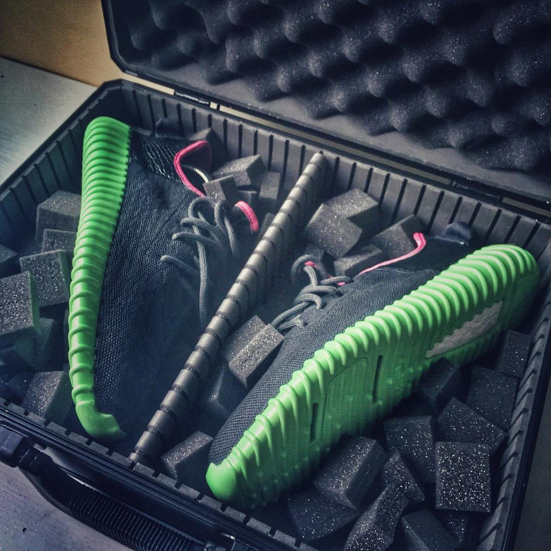 adidas Yeezy 350 Boost Solar Red Custom Case