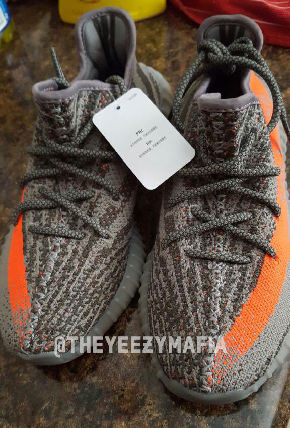FAKE Adidas Yeezy 350 V2 Boost Low SPLY Kanye West Beluga