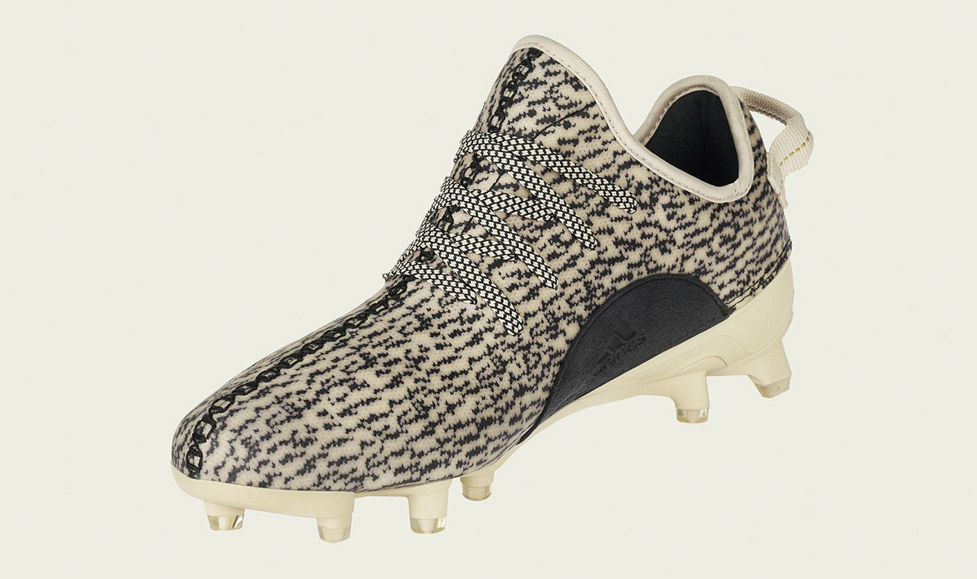 new style 627eb 3c05d Adidas Yeezy 350 Cleat B42410 Medial