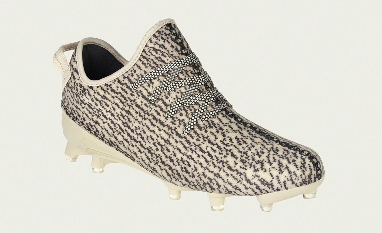 Adidas Yeezy 350 Men's Cleats - Size 13 Turtle Dove B42410