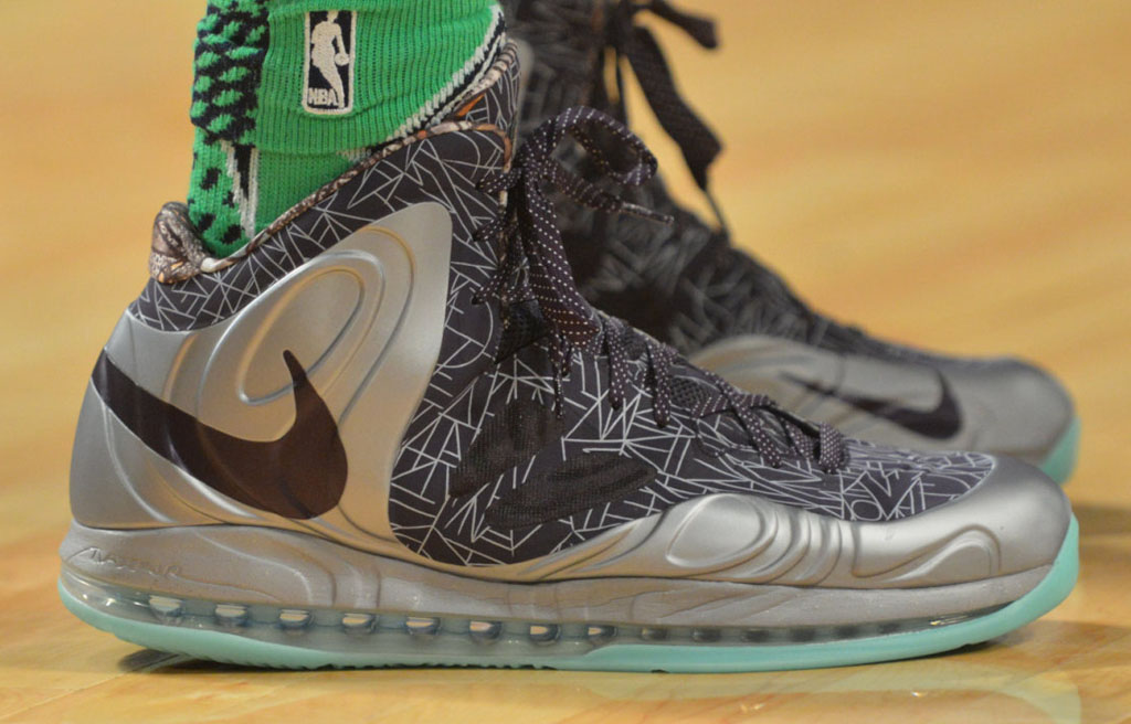 Chris Bosh wearing Nike Air Max Hyperposite All-Star PE