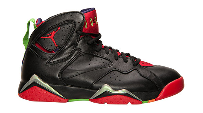 Marvin the Martian Jordan 7s