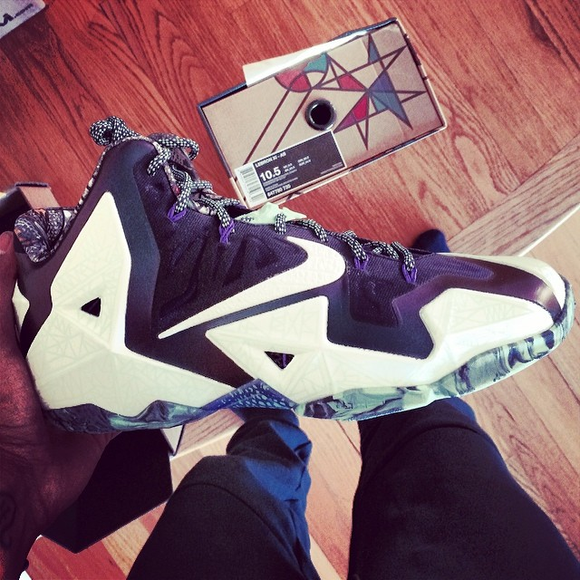 Terrence Jenkins Picks Up Nike LeBron 11 All-Star Gator King