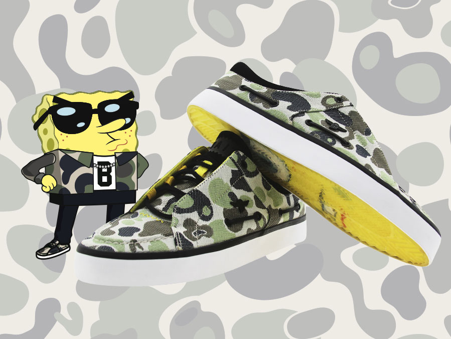 BAIT x Creative Recreation Lusco Spongebob