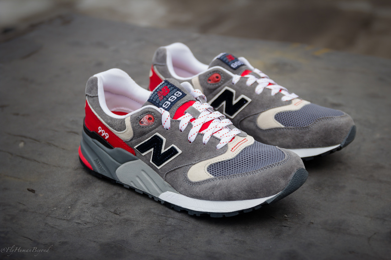 hot sale online 416b4 e6e15 New Balance 999 Elite Edition - Grey/Red | Sole Collector
