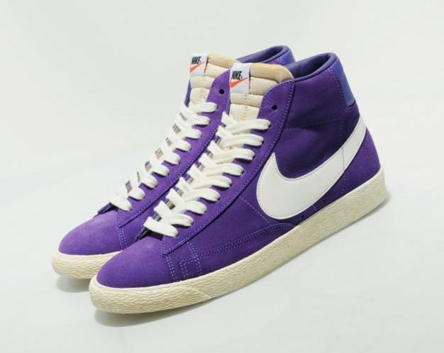 Nike Blazer High VNTG - Purple / Sail
