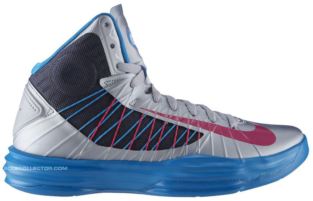huge discount f30ea 8562d Nike Lunar Hyperdunk WBF Grey Fireberry Dynamic Blue 524934-003 (1)
