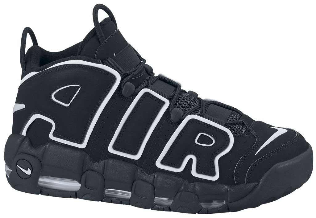 The Top 10 Chicago Bulls Sneakers That Aren't Air Jordans: Nike Air More Uptempo (1)