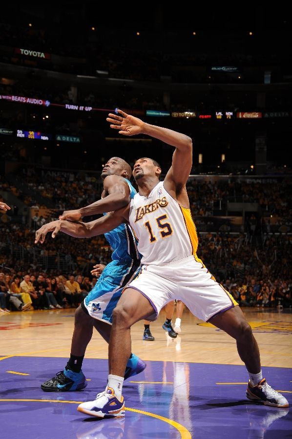 Ron Artest wearing the BALL'N Lay Up