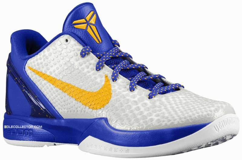 new product a1a95 498e0 Nike Zoom Kobe VI White Del Sol Neutral Grey Concord 429659-104