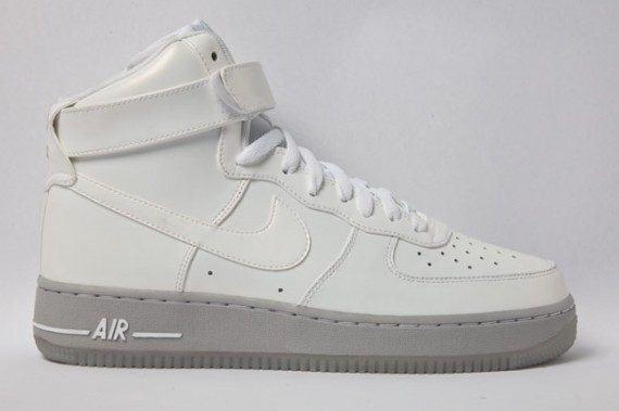 Nike Air Force 1 High Grey Ice Spring 2012 | Sole Collector
