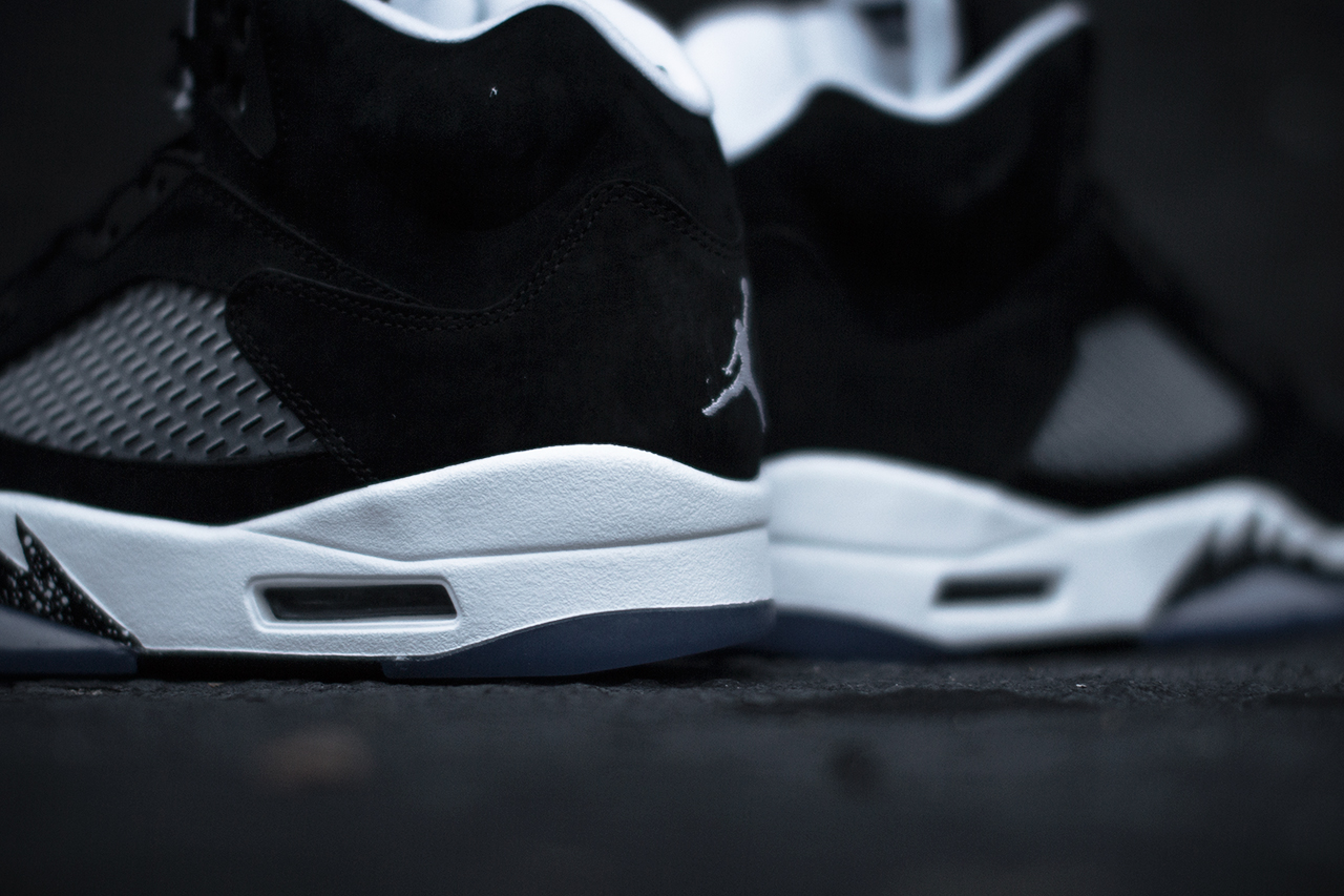 Air Jordan 5 Retro Oreo heel