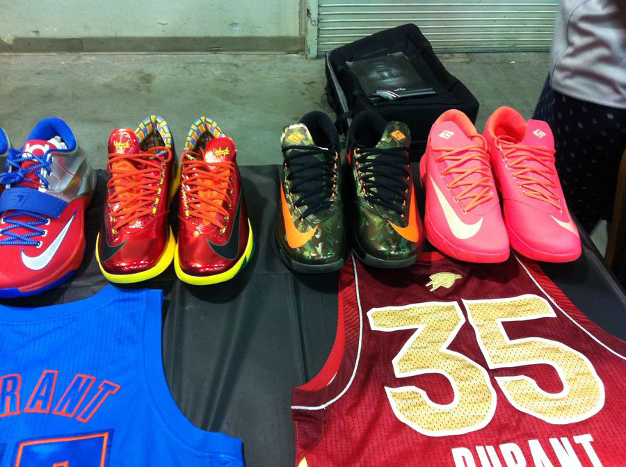 Randy Williams Displays Rare Nike KD Shoes (2)