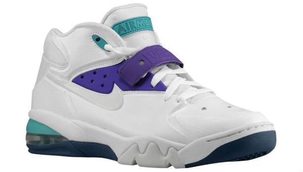 Nike Air Force Max 2013 White/Pure Platinum-Ultraviolet