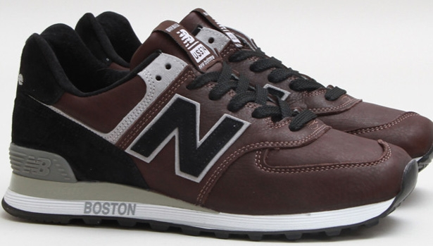 New Balance 574 Brown/Black