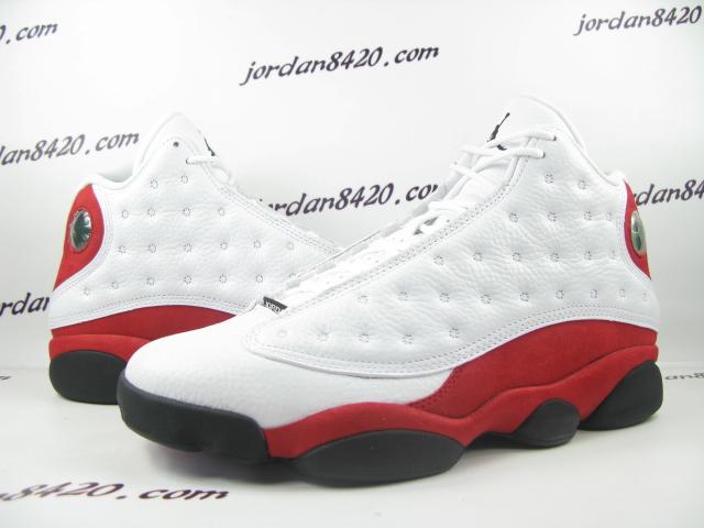 6f47319666600 Air Jordan Retro 13 - White Black-Varsity Red - New Images