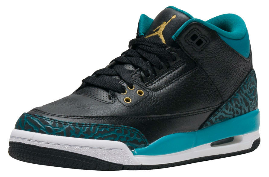 Air Jordan 3 GS Jaguars Release Date Side 441140-018